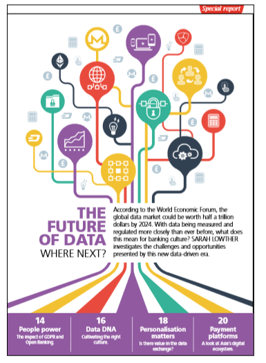 Chartered Banker Magazine Special Report - The Future of Data where next?